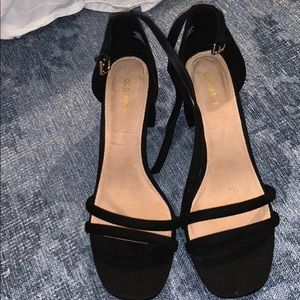 double strap old navy heels